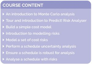 TC-PRA-01 Predict! Risk Analyser Foundation Course_Course content image_040315