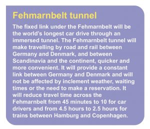Fehmarnbelt tunnel project description