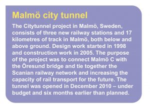 Malmö City Tunnel Project Description
