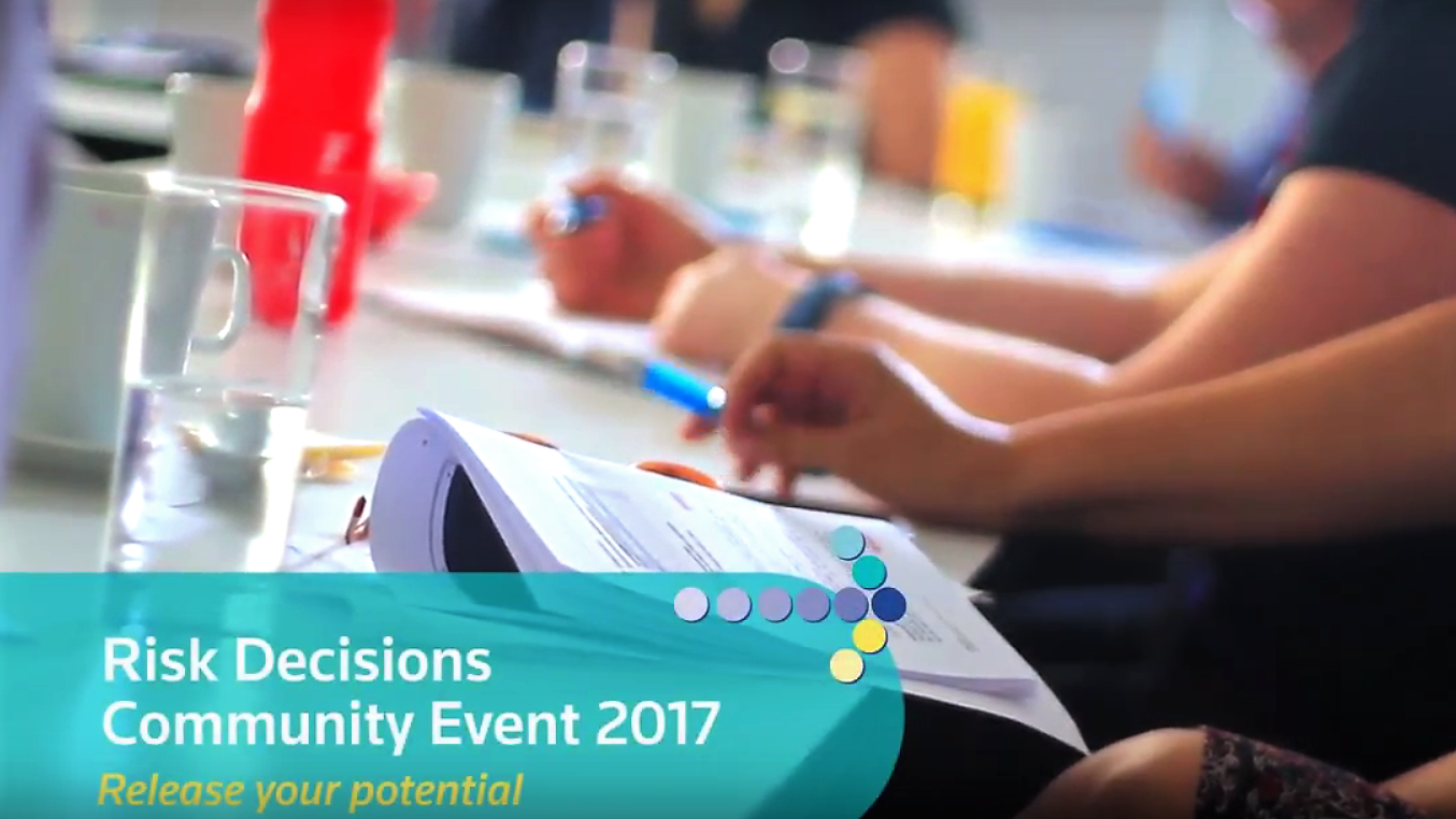 Risk Decisions Community event